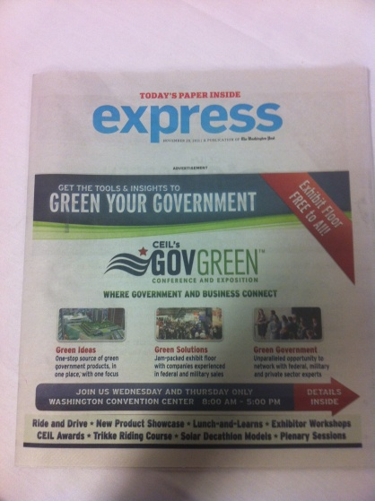 GOVgreen express